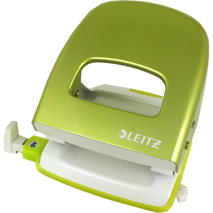 Leitz WOW NeXXT 30 Hole Punch Green